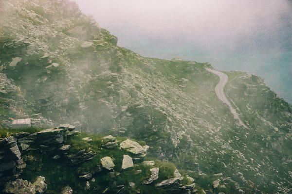 Panorama au sommet de La Rhune au Pays Basque
