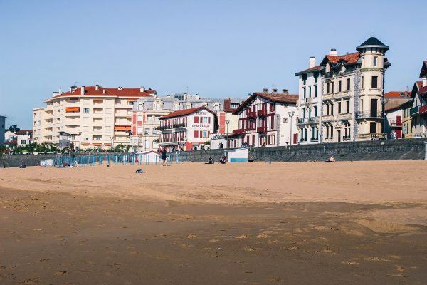La plage de Saint-Jean de Luz