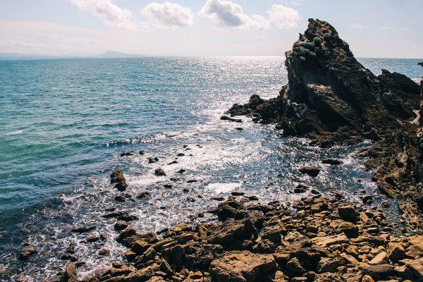 Bord de mer à Biarritz