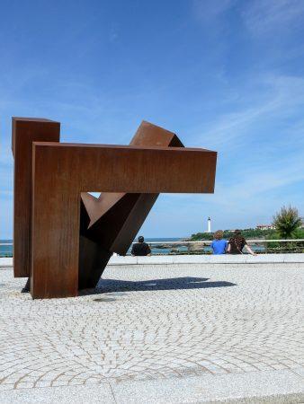 Sculpture à Biarritz