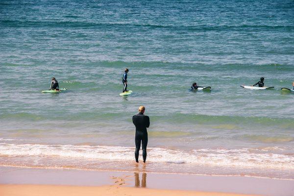 Surf sur la Côte Basque