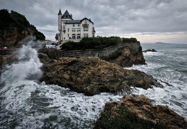 La villa Belza de Biarritz