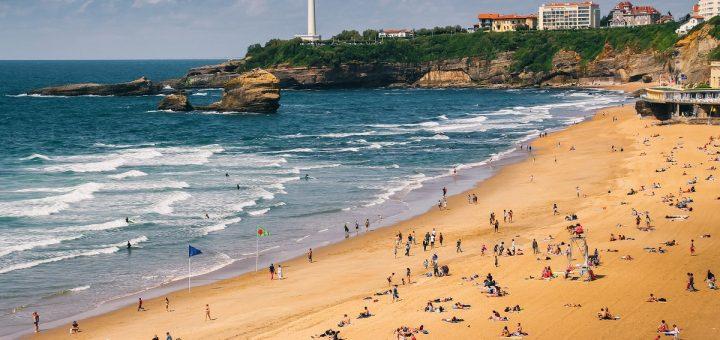 Visiter Biarritz et son bord de mer