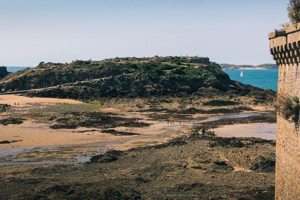 Ile du Grand-Bé à Saint-Malo