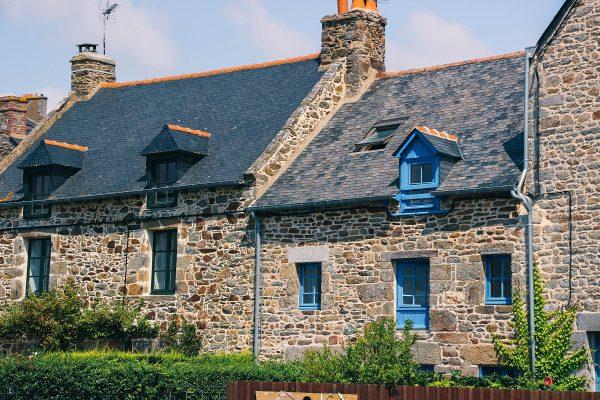 Maisons bretonnes à Saint-Suliac