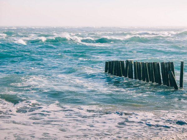 L'océan à la Pointe du Cap Ferret