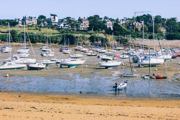 Bateaux à Saint-Briac sur mer