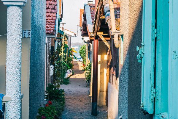 Dans un village ostréicole du Cap Ferret