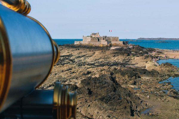 Vue sur le fort de Saint-Malo