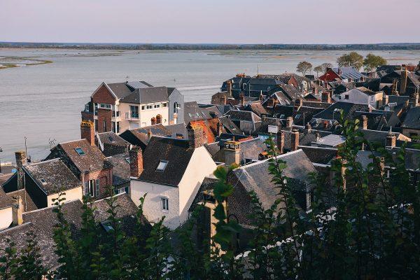 Panorama sur Saint Valery sur Somme
