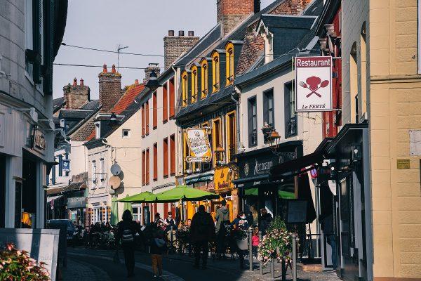 Rue de la Ferté à Saint Valery sur Somme