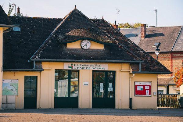Gare du train de la Baie de Somme à Saint Valery sur Somme