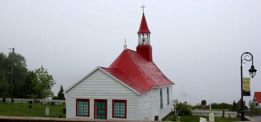 L'église, incontournable à visiter à Tadoussac
