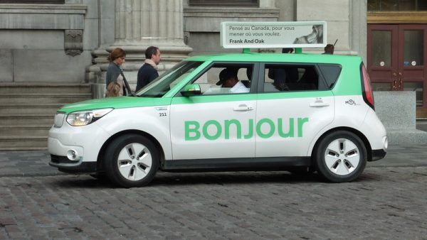 Taxi à Montreal