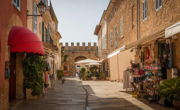Dans la vieille-ville d'Alcudia