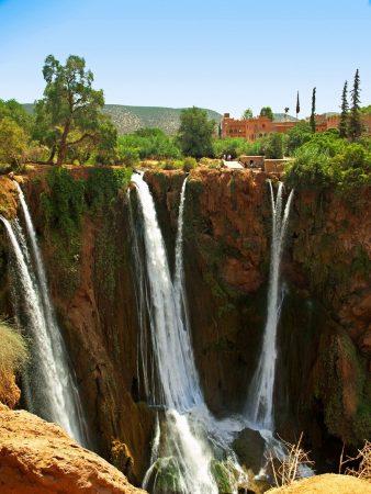 Cascades d'Ouzoud au Maroc