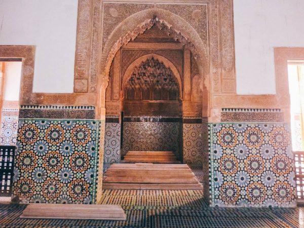 Décorations murales à Marrakech