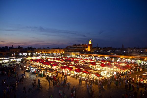 Visiter la place Jemaa-el-Fna de Marrakech