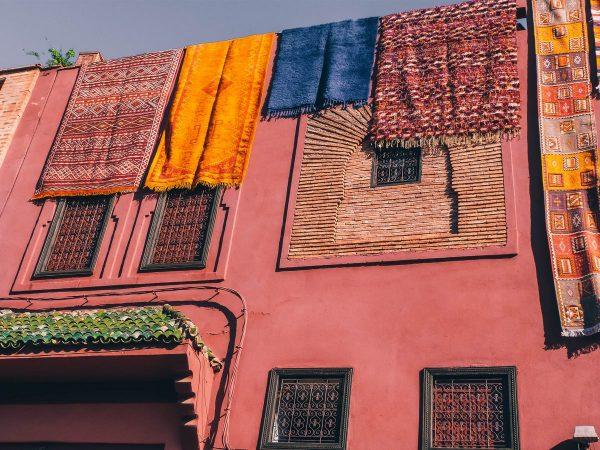 Couleurs dans la médina de Marrakech