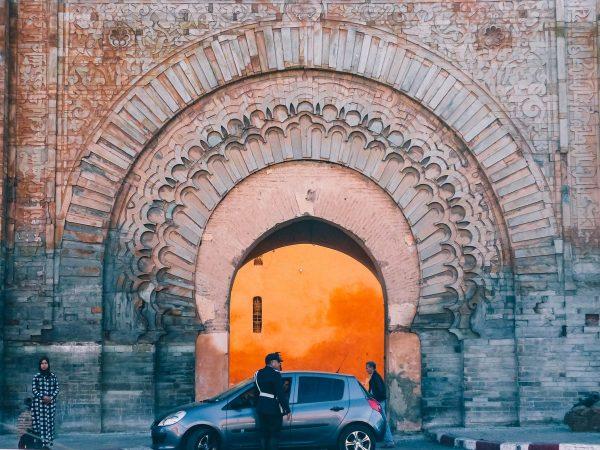 Porte d'accès à la médina de Marrakech