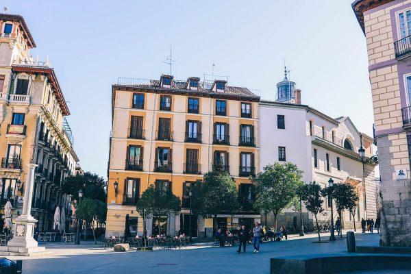 Bâtiment dans Madrid