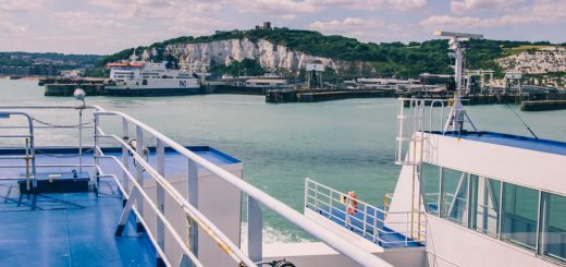 Ferry pour l'Angleterre